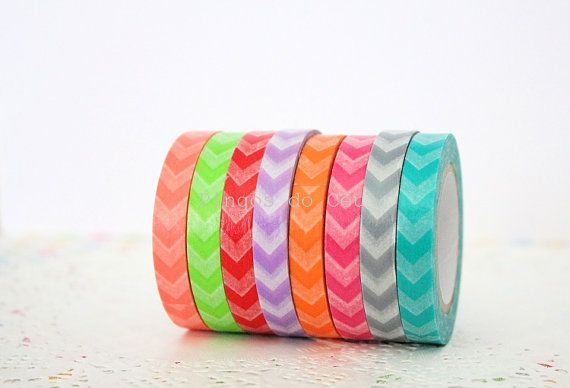 8 pcs - Arrow Washi Tape - Scrapbooking - Tape - Packaging Supplies - 8 Roll - 10 mt/each- Ready to Ship