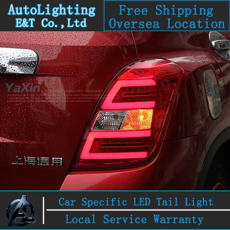 278.07$  Buy now - http://alirpg.worldwells.pw/go.php?t=32492385391 - Car Styling LED Tail Lamp for Chevrolet Trax tail lights Tracker led tail light rear trunk lamp cover drl+signal+brake+reverse