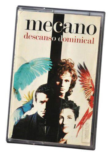 La casete de 'Descanso dominical', un clásico de Mecano.