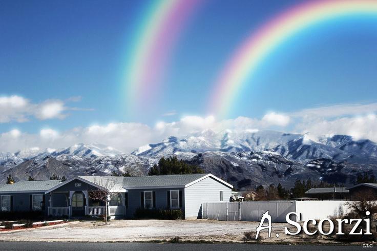 Double Rainbow in Pahrump!