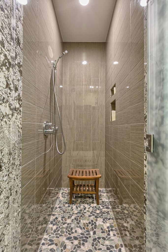 68 Best Images About Master Bathroom Ideas On Pinterest Pebble Floor Mosaic Madness And Mosaics