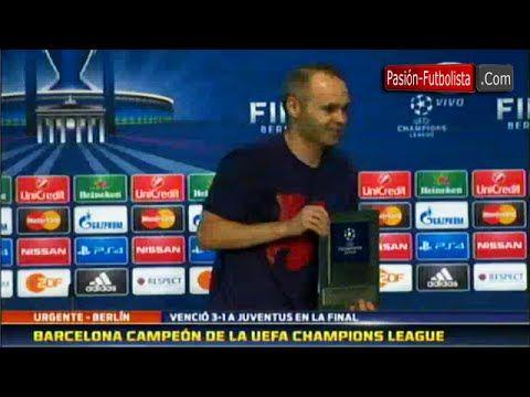 #2013–14UEFAChampionsLeague(SportsLeagueSeason) #20142015 #2014–15UEFAChampionsLeague(SportsL... #andres #AndrésIniesta(FootballPlayer) #barcelona #campeón #champions #de #entrevista #FCBarcelona(FootballTeam) #iniesta #la #league Entrevista Andres Iniesta • Barcelona Campeón de la Champions League 2014/2015