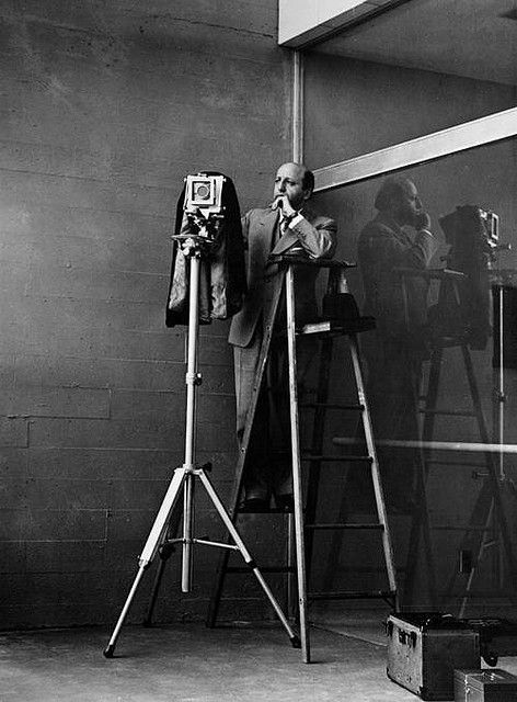 Yousuf Karsh at work 1950 by himself