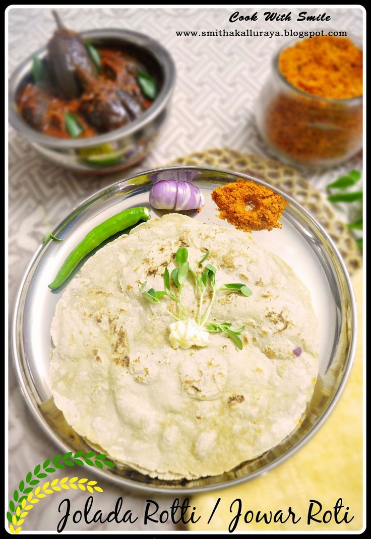JOLADA ROTTI RECIPE / JOWAR ROTI / JOWAR KI BHAKRI / SORGHUM FLATBREAD ~ Cook With Smile