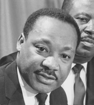 Dr. Martin Luther King, Jr. in a 1968 photo. (UPI Photo) ... Announcer: Some say that Dr. Martin Luther King had a premonition about his death, certainly he thought about it, and on the night of April the 4th, 1968, it came.  Read more: http://www.upi.com/Archives/Audio/Events-of-1968/Martin-Luther-King-Assassination/#ixzz2eGVeWnzs