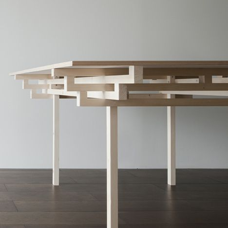 Temple Table by Hiroyuki Tanaka - Do the Japanese see the world differently to the rest of us.