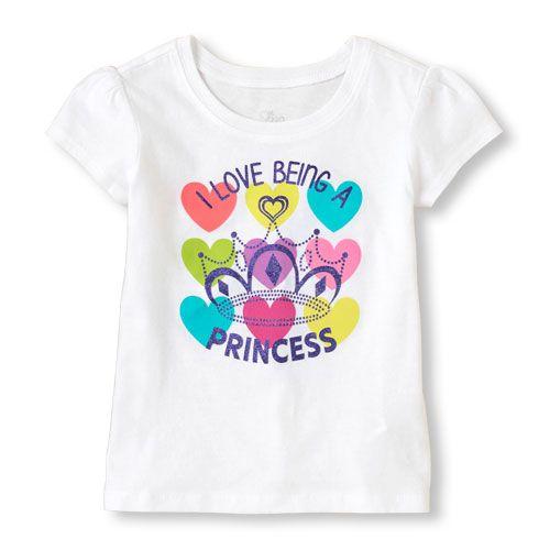 I'm a princess graphic tee