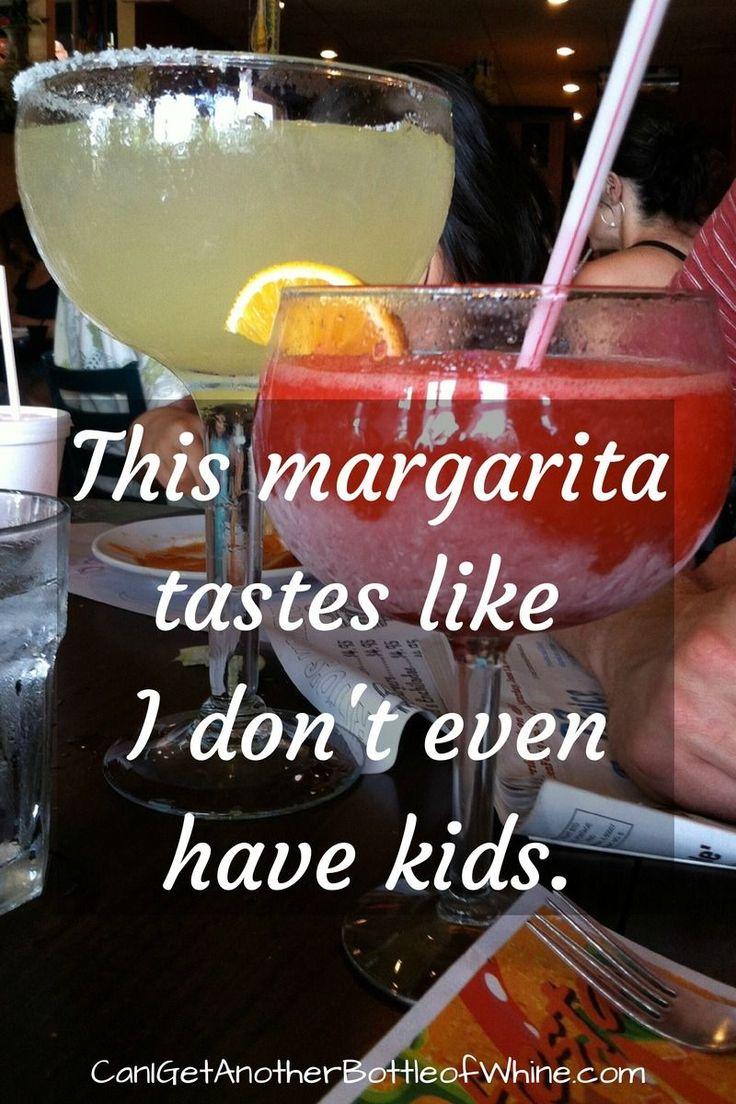 This margarita tastes like I don't even have kids. #joke #parenting