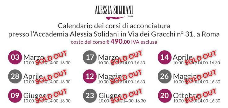 Alessia #Solidani #corso #acconciatura #accademia #capelli #hair #hairstylist #sposa #bride #wedding #soldout