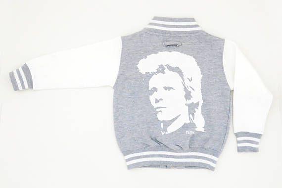 David Bowie Youth Varsity Jacket Unisex Teenager Baseball