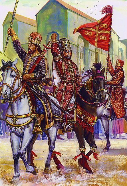 """byzantine vs roman empire The accepted date for the collapse of the western roman empire was  the  byzantines still referred to their empire as """"imperium romanum""""."""
