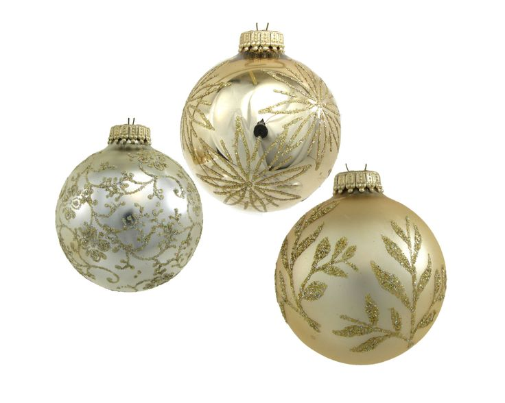 White gold lace Krebs Christmas Ornaments  httpswww.etsy.comshopAvaricia