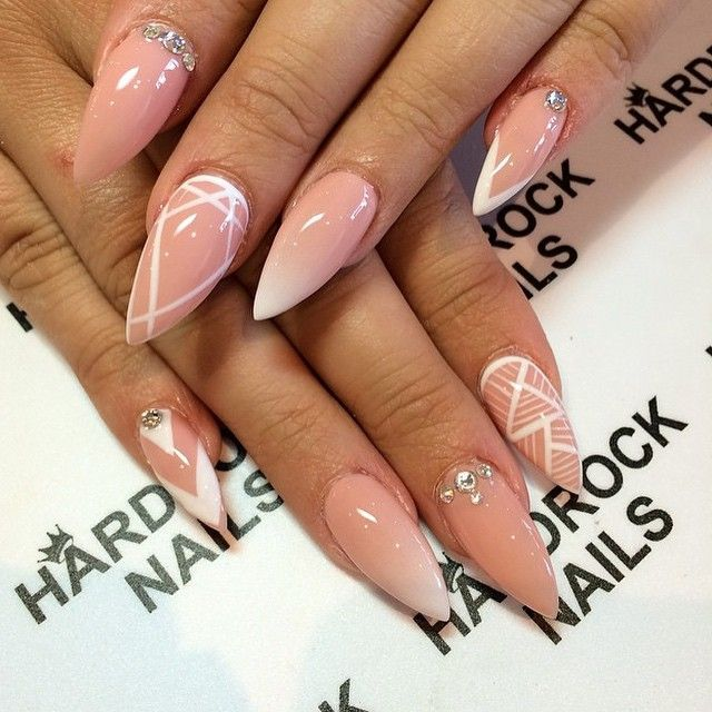 194 best White Nail Designs images on Pinterest | Nail scissors ...