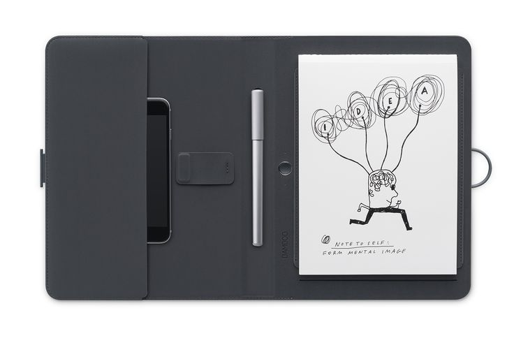 Review: Wacom Bamboo Spark | Bamboo Spark with Phone Pocket   | Credit: Wacom | From WIRED.com
