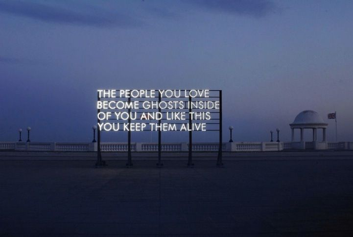 .: Word Of Wisdom, Street Artists, Quote, Ghosts, The Cities, Art I Like, Robert Montgomery, True Stories, Mean Of Life