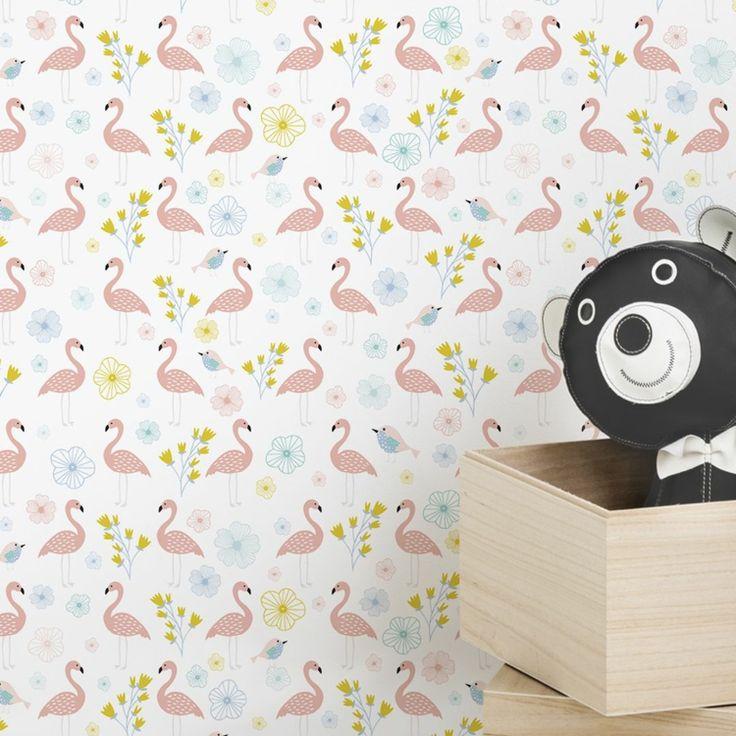 Mit Flamingo Kinderzimmer Deko zaubern Sie ein tolles