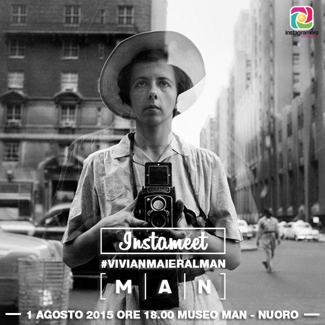 Instagram racconta #VivianMaier. Instameet al Museo Man di #Nuoro #vivianmaieralman