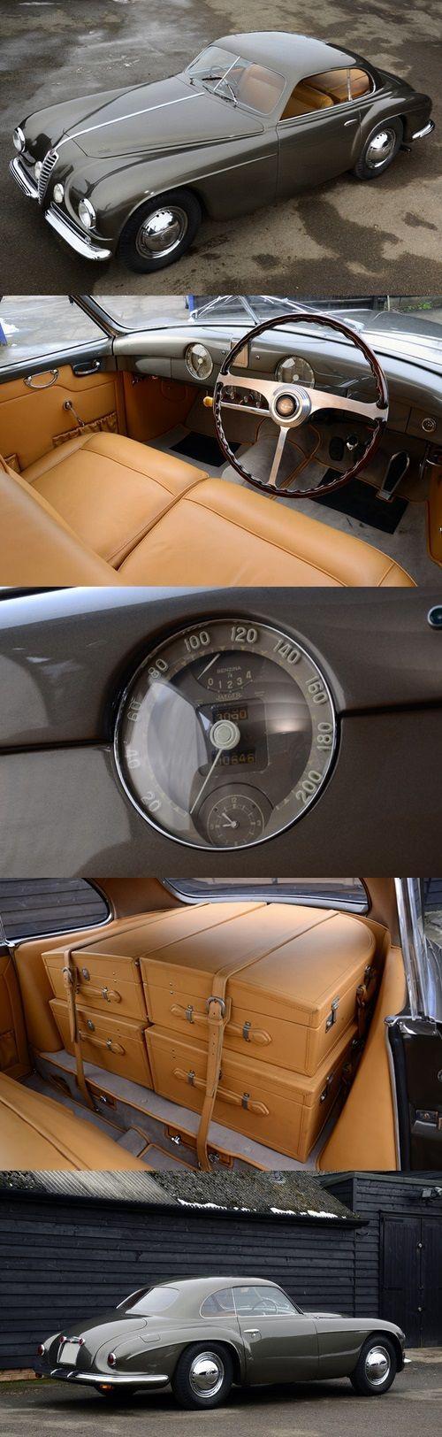 1950 #Alfa Romeo 6C 2500SS Villa d'Este Coupé #vintage #motors