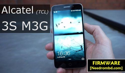 Alcatel M3G ( TCL ) Qfil Supported Firmware Rom | Smartphone