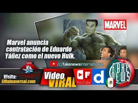 Marvel anuncia contratación de Eduardo Yáñez como el nuevo Hulk.