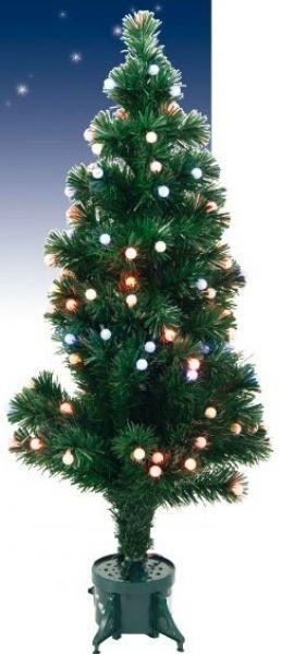 Simple Heitronic LED Weihnachtsbaum Christbaum Fiberoptik Ball kaufen