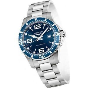 Longines-HydroConquest-Quartz-Blue-Dial-Steel-Womens-Watch-L3-340-4-96-6