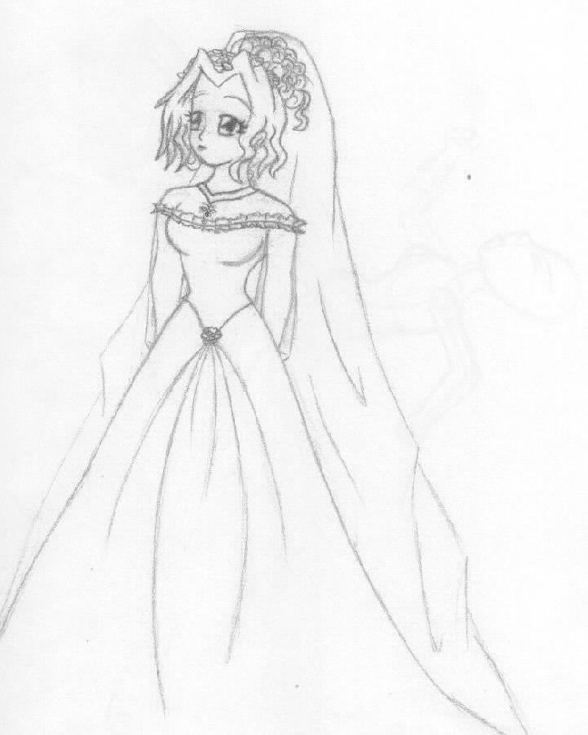 How To Draw Anime Girl Dress anime girl in wedding ...