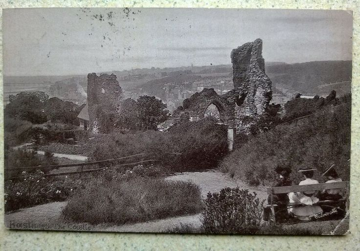 Tuck s Postcard 3 Ladies Hastings Castle Sussex Rev Stewart Smyth of Silvertown