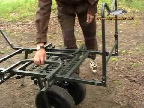 Im Test: B.Richi Giant Truck - Trolley für Angler - YouTube