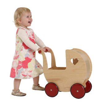 Moover Doll Pram - Natural   Moover   On Sale online at DirectToys NZ