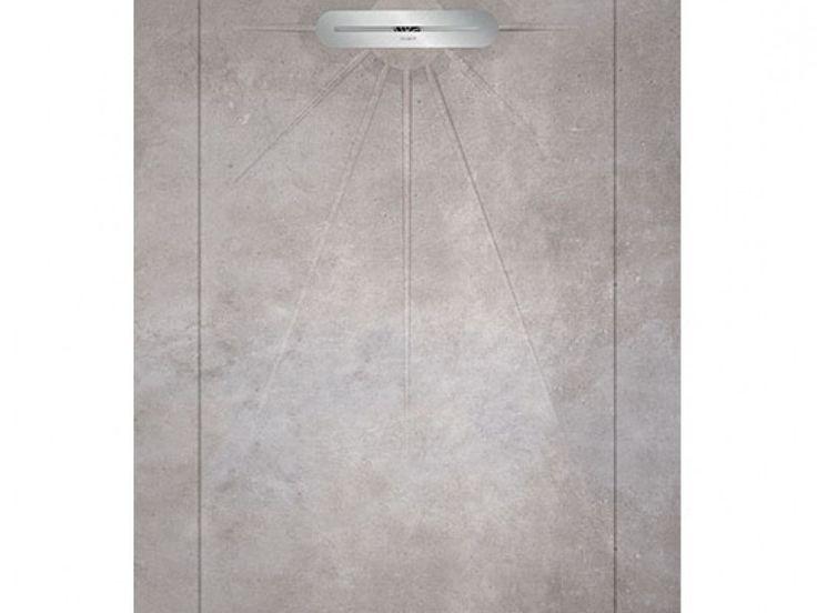 Kierkels - Tegels en Vloeren - Mold Douchetegel Cement 90x135 cm
