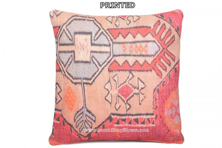 Turkish Kilim Pillow Southern Decorative