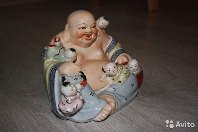 Фарфоровая статуэтка из Китая (Хоттэй) купить в Москве на Avito — Объявления на сайте Avito