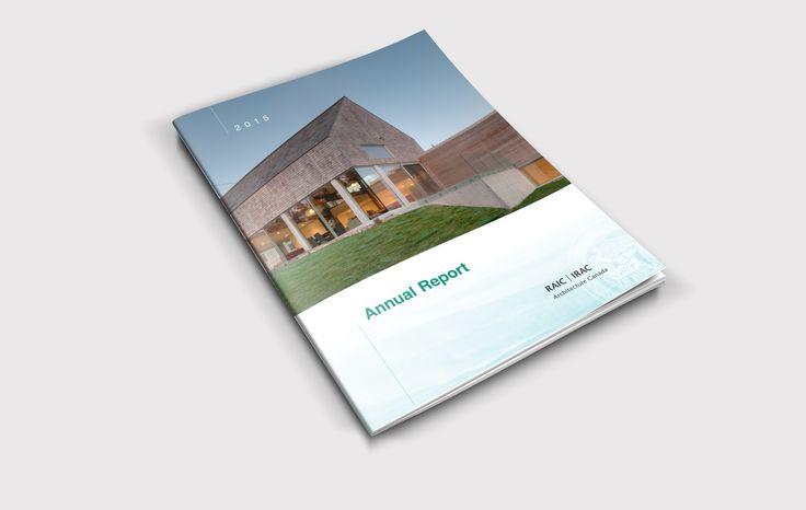 RAIC Annual Report Cover