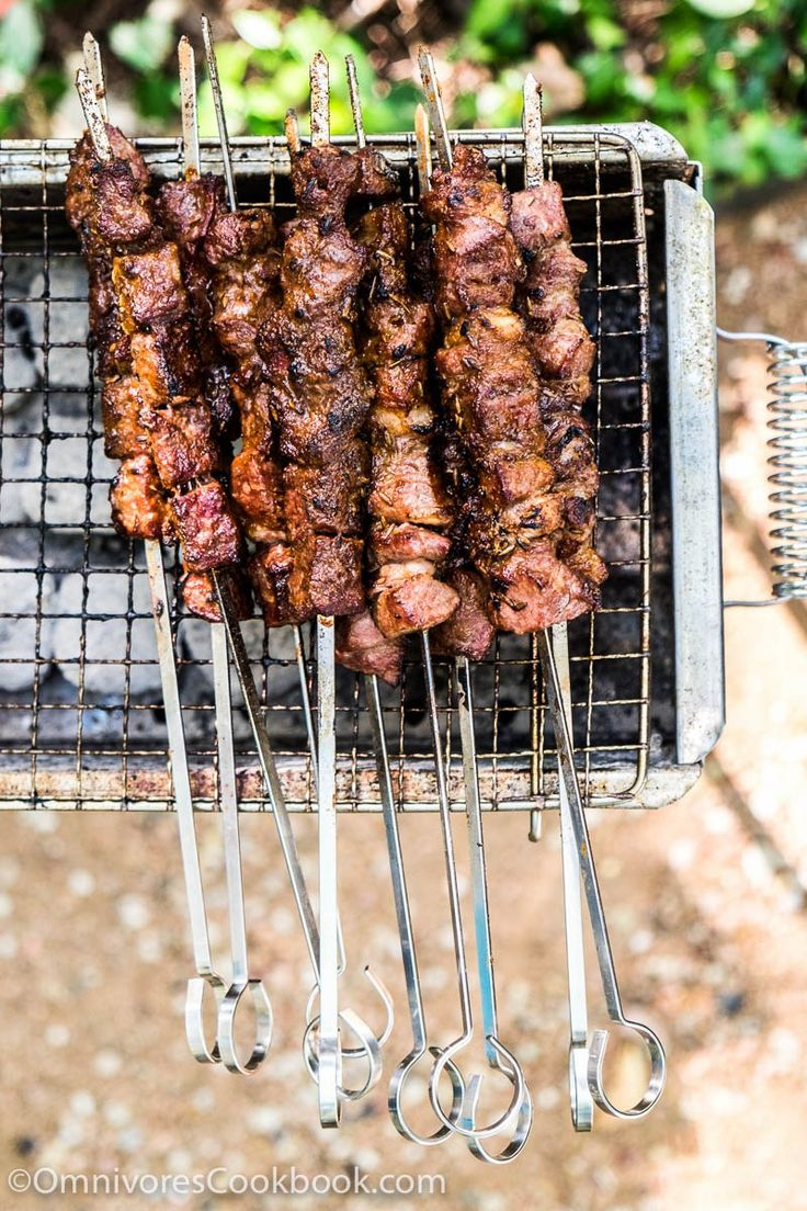 Xinjiang Lamb Skewer (新疆烤串, chuar) - The real-deal recipe that helps you cook exactly the way Chinese street vendors do. Learn the best…