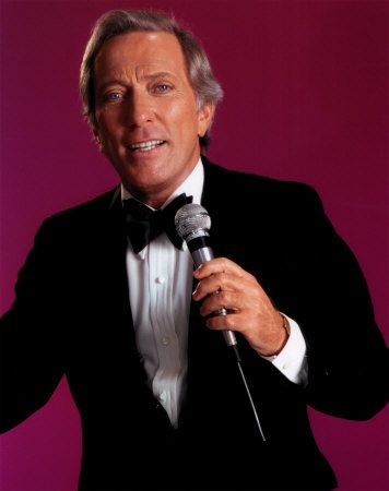 Andy Williams' easy voice and melodic technique make him a popular suggestion from our Guests.