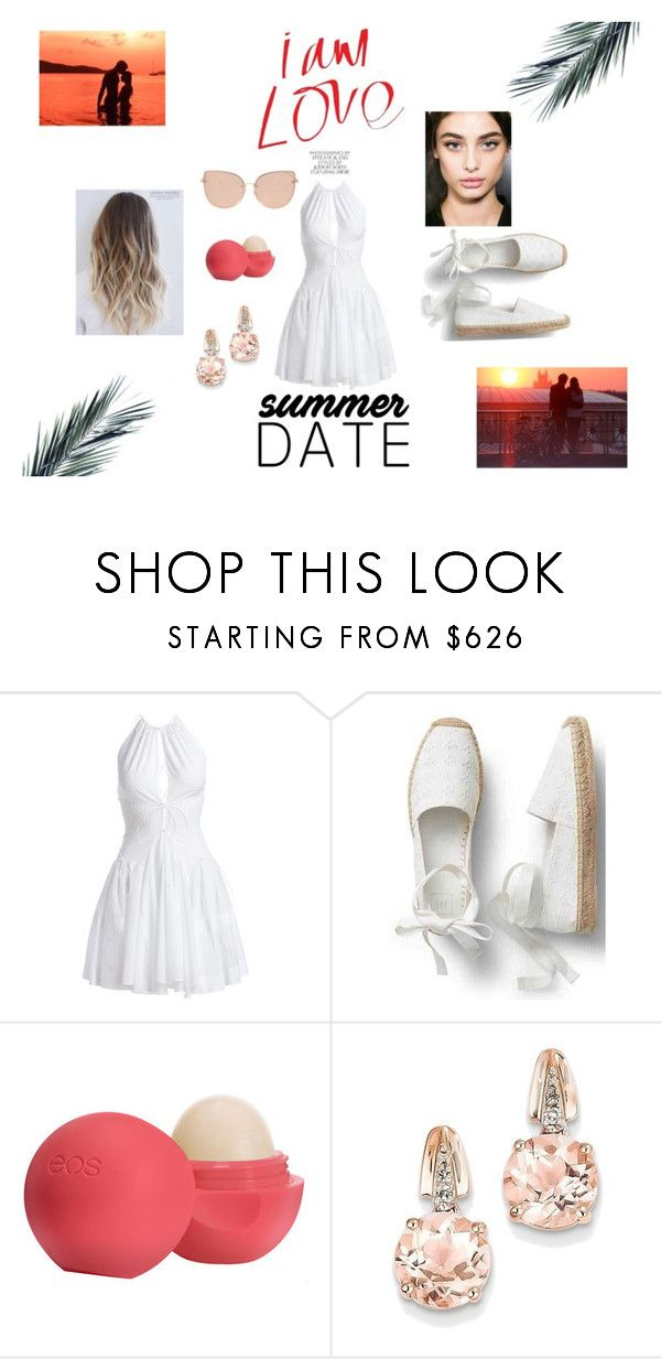 """""""Summer date"""" by kovacslilla on Polyvore featuring Alaïa, Eos, BillyTheTree and Topshop"""