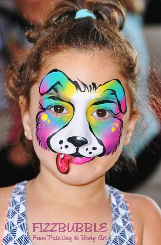 Painted Puppy Dog Faces