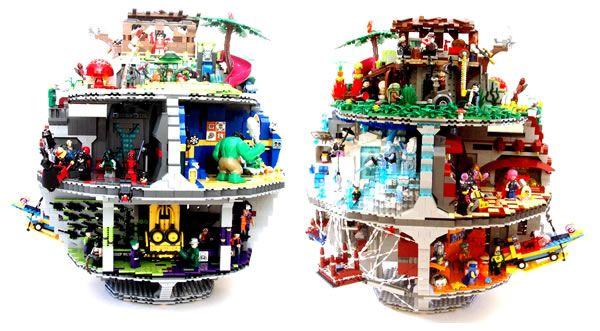 Lego super heroes death star diggers legos pinterest - Logo super heros ...