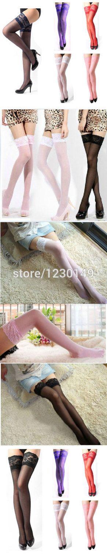 Wholesale Product Snapshot Product name is Сексуальные женские Sheer Кружева Топ бедренной кости высокие чулки 6 цветов
