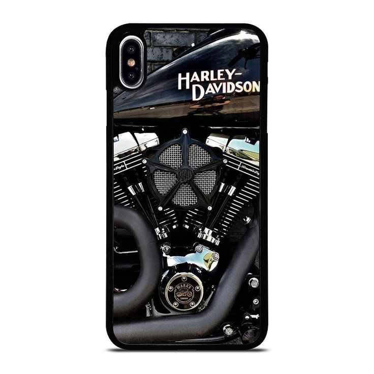 Harley davidson engine iphone xs max case cover