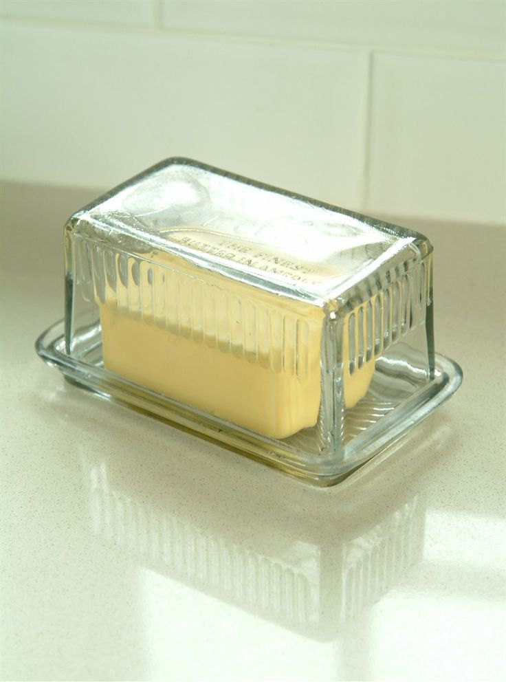 Louella Glass Butter Dish at Garden Trading
