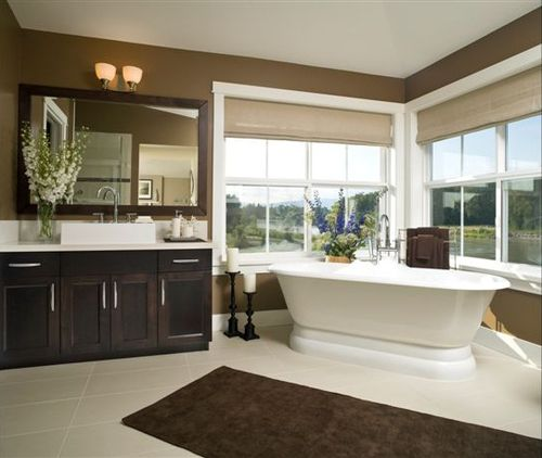 Brown Bathroom Beautiful And Simple