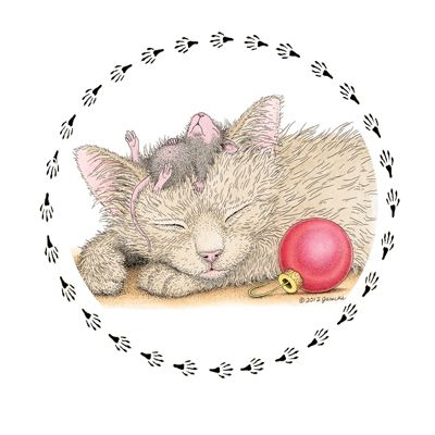 """""""1 Sheet of 20 Round Stickers"""" from House-Mouse Designs / www.house-mouse.com - (SR-C220). This item was recently purchased off from our web site. Click on the image to see more information."""