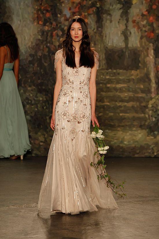 Jenny Packham 2016 Bridal Collection. See every last dress here: http://static.weddingchicks.com/jenny-packham-2016-bridal-collection/: