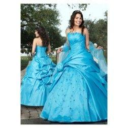 Cheap Gorgeous A-line Sweetheart Chapel Ruffles Wedding Dress Under Price 110 At Gifilight.com.