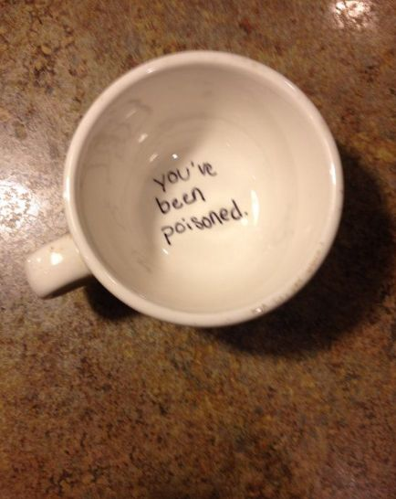 And this guy with a darker sense of humor. | 26 People That Prove Boredom Breeds Brilliance