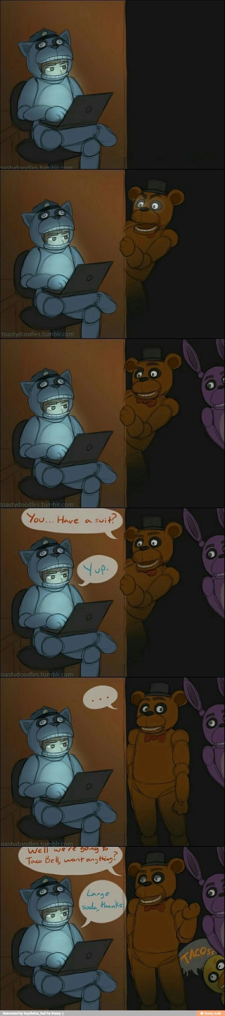 Funny Picture about Five Nights at Freddy's