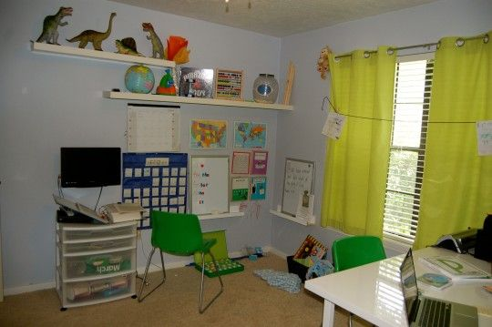 Our Homeschool Room!: Office School Room, Homeschool Room, Homeschool Classroom, Rooms