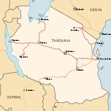 Central Line (Tanzania) - Most important railway line in Tanzania